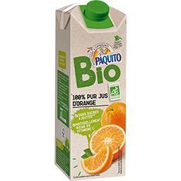 100% pur jus d'orange BIO