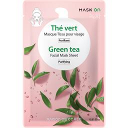 Maison de Corée Masque visage purifiant thé vert le sachet de 23 g