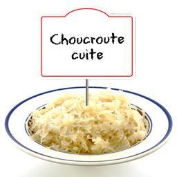 Choucroute cuite au riesling,Votre Traiteur A Sélectionné,au rayon traiteur à la coupe