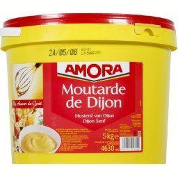 Moutarde de Dijon, recette réchauffable