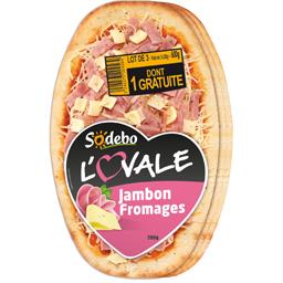 L'Ovale - Pizza jambon fromages