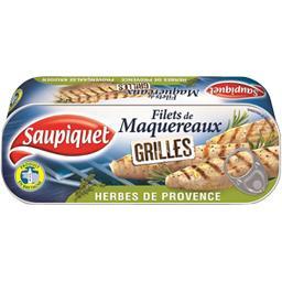 Saupiquet Filets de maquereaux grillés herbes de Provence