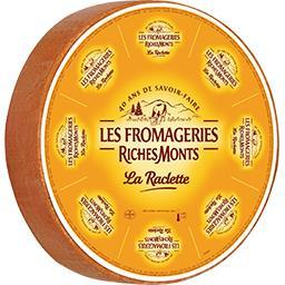 Raclette au lait pasteurisé 26% de MG