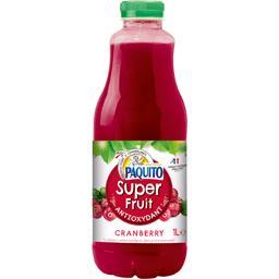 Boisson à la Cranberry, enrichie en vitamine C