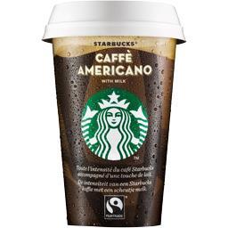 Boisson Caffé Americano avec lait
