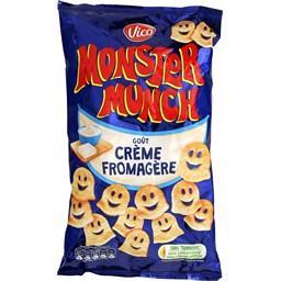 Monster Munch - Biscuits salés goût crème fromagère
