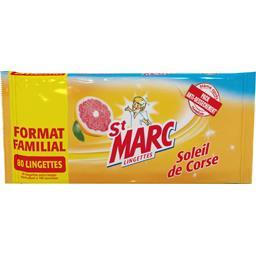 St Marc Lingettes Soleil de Corse le paquet de 80 lingettes -