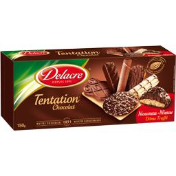 Assortiment de biscuits Tentation Chocolat
