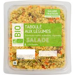 Taboulé aux légumes BIO