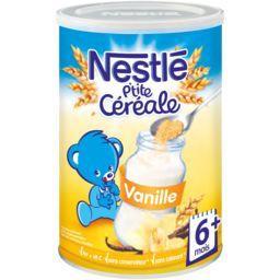 P'tite Céréale - Céréale vanille, 6+ mois