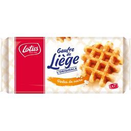 Gaufres de Liège aux œufs frais perles de sucre