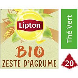 Thé vert BIO zeste d'agrume