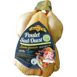 Poulet jaune fermier Sud-Ouest Label Rouge