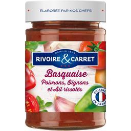 Sauce Basquaise poivrons oignons et ail rissolés