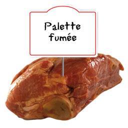 Demie palette de porc FUMEE