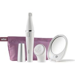 Mini épilateur et brosse nettoyante Face Spa