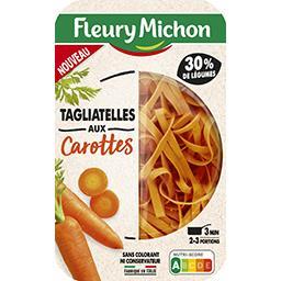 Tagliatelles aux carottes