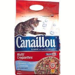 Croquettes poisson légumes pour chats