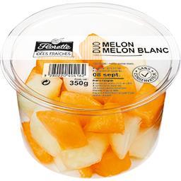 Idées Fraîches - Duo melon, melon blanc