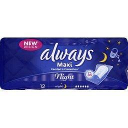 Serviettes hygiéniques Maxi Night