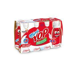 Mini Yop - Yaourt à boire goût fraise