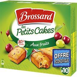 Brossard Les Petits Cakes aux fruits
