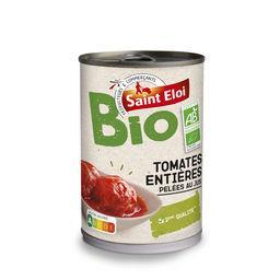 Tomates entières pelées au jus BIO
