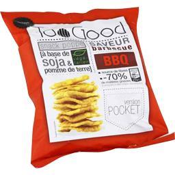 TooGood Snack poppé à base de soja & pomme de terre saveur barbecue le paquet de 25 g
