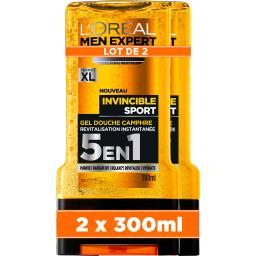 L'Oréal Men Expert de L'Oréal Gel douche Invincible parfum intense