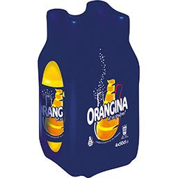 Orangina Soda orange et sa pulpe