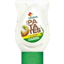 Sauce patates et sa ciboulette et son persil