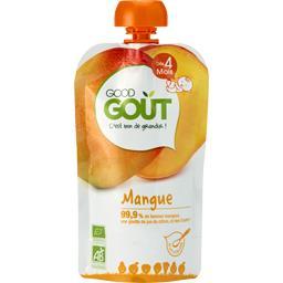 Good Goût Compote mangue BIO, dès 4 mois