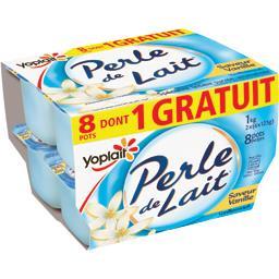 Yoplait Spécialité laitière saveur vanille les 8 pots de 125 g - 1 kg