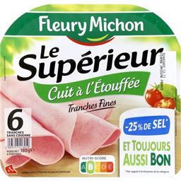 Le Supérieur - Jambon sans couenne cuit à l'étouffée...