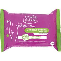 Ma Toilette Intime - Lingettes intimes sensitive