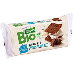 Regain Toasts de riz chocolat au lait BIO le paquet de 100 g
