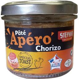 Stéphan Apéro - Pâté chorizo spécial toast la boite de 90 g