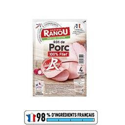 Rôti de porc 100% filet Label Rouge