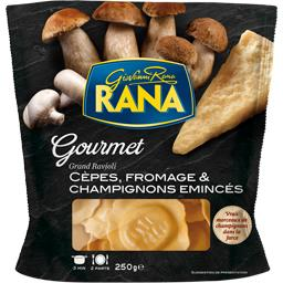 Pur Plaisir - Grand ravioli aux cèpes & champignons ...