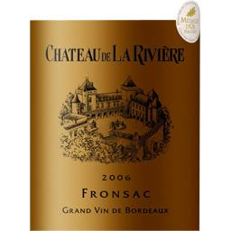 Fronsac vin rouge, 2006