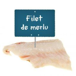Filet de MERLU La portion à la demande à partir de 300gr