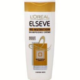 Re-Nutrition - Shampooing crème nutrition intense, cheveux secs