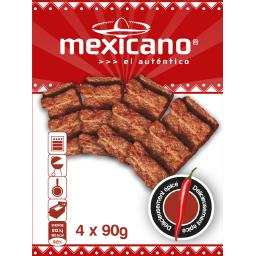De Vries Snacks Mexicano El Autentico les 4 Mexicano de 90 g