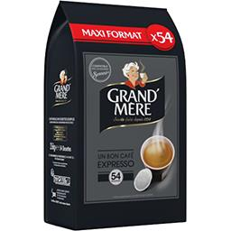 Dosettes de café moulu Expresso