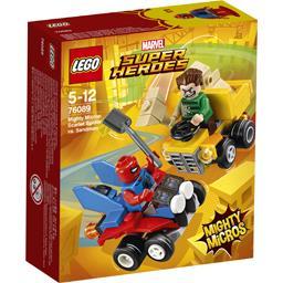 Scarlet Spider vs Sandman Mighty Micros Marvel Super Heroes