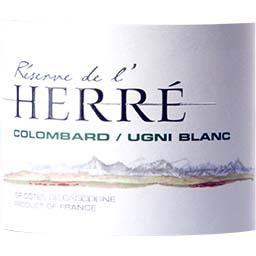 Côtes de Gascogne, vin blanc sec - colombard ugni blanc