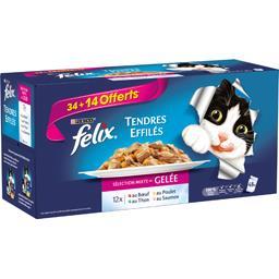 Felix - Tendres effilés Délicieux duos viandes & poissons po