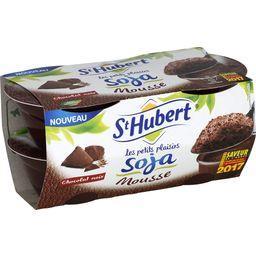 Desserts Les Petits Plaisirs soja mousse chocolat noir