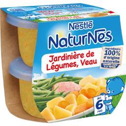 Nestlé Naturnes Jardinière de légumes veau, dès 6 mois