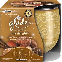 Glade Bougie Nut Delight éclat noisette érable & praliné